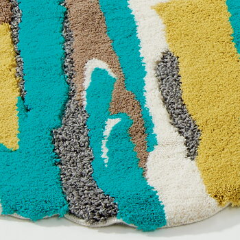 【ラグマット】ABYSS&HABIDECOR(アビス&ハビデコール)ENERGIE75×150cm[PR:室内屋内洗える高級モダンブランドおしゃれかわいいリビングラグ変形綿コットン無地シンプルカラフルプレゼントギフト]