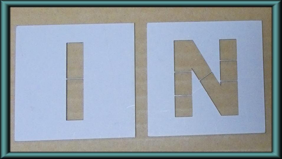 駐車場 ステンシル H750mm IN パーキング parking 刷り込み板 吹付プレート 刷り込みプレート 吹き付け板 スプレー板 マーキングプレート 刷込み板 刷込みプレート 吹き付けプレート 吹付け板 マーキング板 スプレー板 スプレープレート 塗装 漢字 駐車場ステンシル