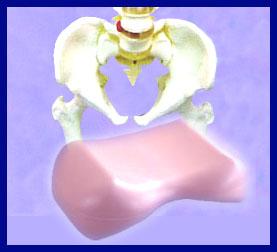 下半身太りに効く美尻クッション!骨盤の開きが補整されると、むくみやむだな贅肉もスッキリ!...