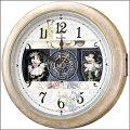 SEIKO(セイコー)電波掛け時計ツイン・パチャイム&ストライク木枠ブラウンRX210B在庫有り