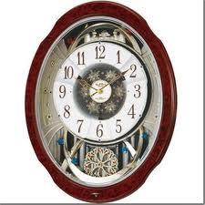 Small World (スモールワールド) 掛け時計 ブルームDX 電波時計 からくり時計 4MN499RH23【マラソン201211_生活】【RCP】【RCP1209mara】