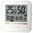SEIKO CLOCK (セイコー クロック) 熱中症アラーム付デジタル時計(白) SQ763W