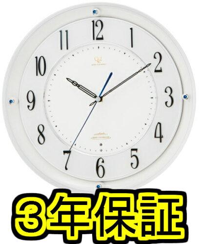 ★今だけさらに10%OFFシチズン/リズム時計工業(株) 掛時計 ホワイト...
