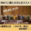 【お試しセット】 1,000円! ハーブティー ティーバッグ  オーガ...