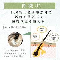 100%天然由来ノンシリコンシャンプーharu黒髪スカルプ・プロ。芸能人やママモデルも愛用中♪