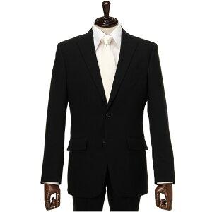 礼服 メンズフォーマル J-BLACK シングル 2つボタン サマーフォーマルスーツ 無地 ブラック 涼しい 夏用 サマー礼服 軽量 高い通気性 はるやま