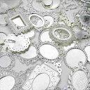 【お急ぎの方専用ページ】サービス品 ミール皿 50枚セット シルバー 銀 福袋 アソート カンなし  ...