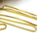 アクセサリーパーツのHARU雑貨で買える「ゴールド ベネチアンチェーン 1m 切り売り 幅約2mm gv01 金 アクセサリーパーツ レディース メンズ ヴェネチアン ネックレス ピアス イヤリング ストラップ ネイル リング 揺れる 修理 ハンドメイド 手芸 素材 材料」の画像です。価格は149円になります。