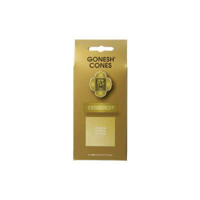 GONESH INCENSE CONE VANILLA / ガーネッシュ インセンス コーン バニラ / Room Fragrance お香