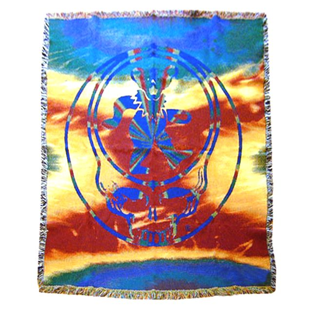 Syf Bear Cotton Throw Rug Blanket Grateful Dead Baby A