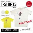 【OLD PRINT TEE】グレイトフルデッド スタンディング サム ポケットTシャツ・全2色★バックプリントあり★ポケT/ オフィシャル / ヴィ…