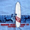 ハイビスカス ストライプ ブルー Tシャツ GRATEFUL DEAD/グレイトフルデッド/デッドべア/オフィシャル