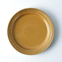 ローズマリーコハク24cmプレート【波佐見焼き】石丸陶芸ミニョン丸皿ギフト無料ラッピングプレゼント北欧風茶色リム皿