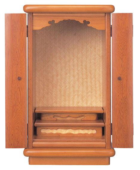小型仏壇 ミニ仏壇 春霞 16号 杢種 屋久杉:仏壇仏具 神棚 数珠のLifeハセガワ