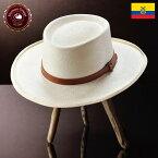 ポークパイ パナマ帽子 メンズ レディース 帽子 ハット 春夏 パナマハット 紳士帽 メンズハットエクアドル 大きいサイズ プレゼント ナチュラル HomeroOrtega オメロオルテガ フェドラ2V 送料無料 あす楽