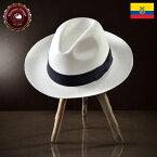 パナマ帽 メンズ レディース パナマハット 麦わら帽子 中折れハット ホワイト パナマ帽子 紳士帽 メンズハット 帽子 ハット エクアドル 大きいサイズ プレゼント S M L XL オメロオルテガ ラウレール 送料無料 あす楽
