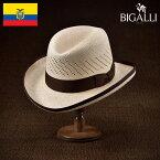 パナマハット パナマ帽 メンズ レディース 中折れ帽子 フェドラ ホンブルグ ハット 帽子 紳士 春夏 大きいサイズ 紳士帽 ギフト プレゼント 送料無料 あす楽 S M L XL XXL エクアドル製 BIGALLI [ゴッドファーザーFC]