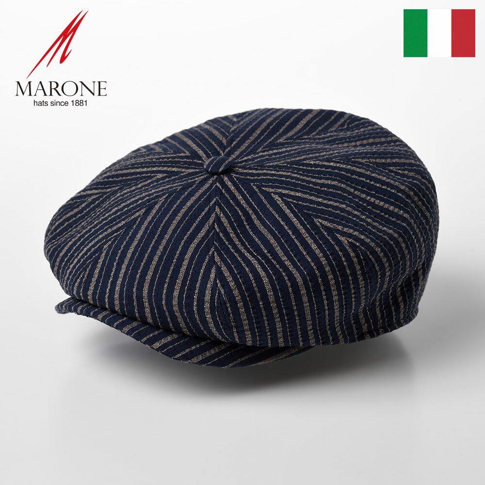 メンズ帽子, ハンチング・キャスケット  CAP MARONE Bristol Stripe CT657
