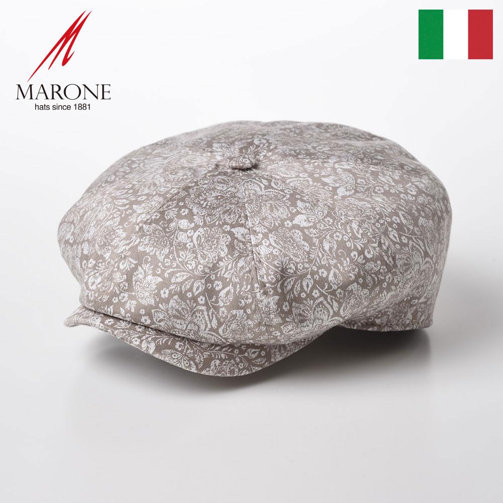 メンズ帽子, ハンチング・キャスケット  CAP MARONE Bristol Damasco CT658