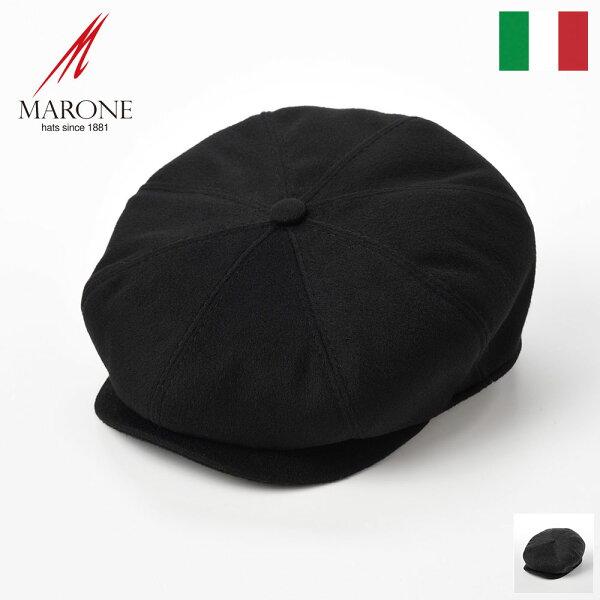 キャスケット帽子メンズ秋冬カシミア素材大きいサイズブランドイタリアレディース紳士帽キャスケット帽ハンチング帽黒ブラック灰グレーシ