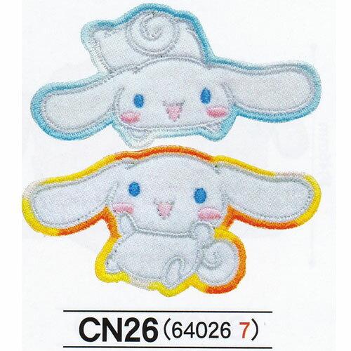 お名前シール・スタンプ, お名前アイロンシール  SANRIO Cinnamoroll 121 23 CN550-CN26 Pioneer