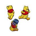 パイオニア Disneyシリーズ ワッペン 1袋3柄各1枚入 合計3枚3袋セット DI300-DI22 アイロン接着 1