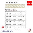 INAZUMA コットンロープ(生成) 太さ約16mm 全長約5m(ボ...