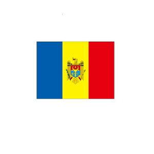 旗 外国旗 オーダー モルドバ H120×W180cm テトロンポンジ製 Moldova 旗 フラッグ 160か国対応