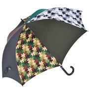 送料無料長傘65cm×8本骨+RING手開き式メンズ傘[HATCHI/l518]父の日クリスマス誕生日あす楽修理可