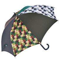 送料無料 長傘 雨傘 迷彩 65cm×8本骨 +RING 手開き式メンズ傘[HATCHI/l518]メンズ 父の日 ブランド クリスマス 誕生日 あす楽 ハンドル