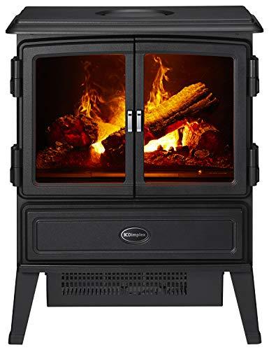 ディンプレックス電気暖炉オークハースト【3~8畳用】ブラックOKT12J