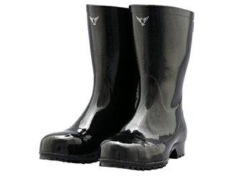 安全高筒靴安全靴橡膠靴工作高筒靴高筒靴作業用作業用高筒靴日本製造AK010安全地輕長靴AK010 Shibata工業