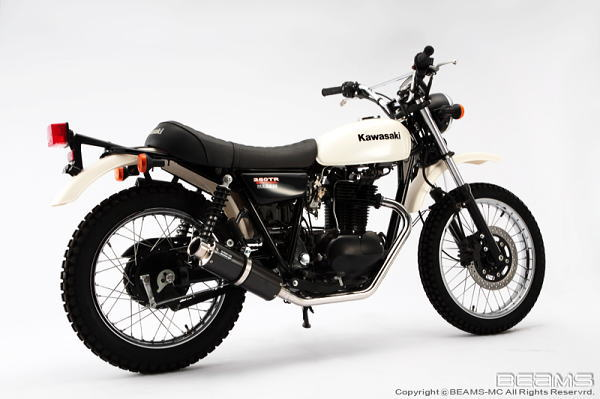 【BEAMS】【ビームス】【マフラー】SS300カーボンモデルモデル250TRFiJBK-BJ250F【B411-08-000】【送料無料】