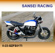 【SANSEI RACING】【サンセイレーシング】ZNIC フルエキゾースト チタン IMPULSE インパルス400 05-【0-22-SZFS01TI】【送料無料】