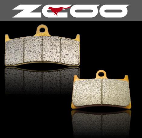 【ZCOO】【ジクー】【ブレーキ】【パッド】【パット】【バイク用】セラミックシンタード TRIUMPH Daytona 675 09- NISSIN ラジアルマウント【ZRM-N008】