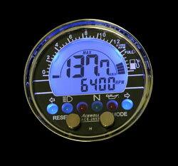 ACEWELL/エースウェル/バイク用/多機能デジタルメーター ACE-2853H(510Ωタイプ)