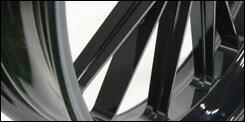 【GALE SPEED】【ゲイルスピード】【ホイール】【バイク用】R(リア)一本のみ 専用スプロケット必要 純正不可 550-17 半ツヤブラック [TYPE-S クォーツ] GSXR1100 89【28751124Q】【送料無料】