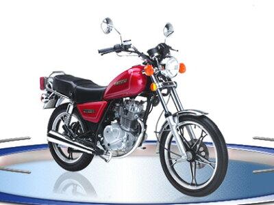 懐かしのモデル再来、GN125H。【輸入新車】【バイクショップはとや】SUZUKI(スズキ) GN125H 黒...
