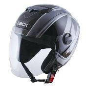 スピード ストリート ヘルメット シルバー ブラック
