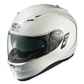 お年玉セール!】【在庫限り 送料無料!】OGK KAMUI カムイ フルフェイスヘルメット パールホワイト Lサイズ2個のみ※お届けは、2015年1月5日(月)以降