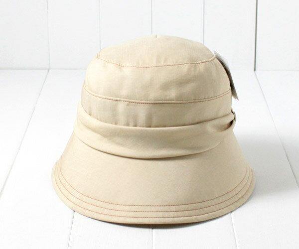 [メール便]Simple life コットンリネン クロッシェ Sサイズ 小さいサイズ 紫外線対策 UVケア 日よけ クロッシェ ダウンブリム ハット 折りたたみ コンパクト レディース 女性 婦人 ミセス 母の日 お母さん 春夏 メール便 シンプルライフ S9804 帽子