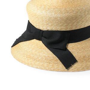 送料無料石田製帽DAYSTROWS+日本製極細麦マグネットストローハット麦わら帽子上質高級極上クラシックレトロモダンヨーロピアンつば広ハット紫外線対策UVケア日よけ国産レディース女性婦人春夏ih0015帽子