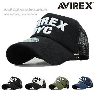 AVIREX アヴィレックス アビレックス キャップ メンズ レディース 帽子 メッシュキャップ USA AXNYC 人気 トレンド 父の日 贈り物 プレゼント メンズ