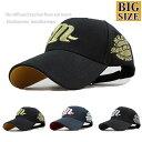 大きいサイズ ビッグサイズ XL キャップ 帽子 メンズ m...