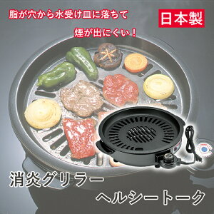 【送料無料】杉山金属 消煙グリラー ヘルシートーク KS-2310バーベキュー 焼肉 ステーキ 無煙 ダイエット