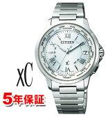 クロスシー シチズン エコドライブ ソーラー 腕時計 XC CITIZEN CB1020-54A ハッピーフライト 電波時計 レディース メンズ 男女兼用