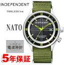 対象ショップ限定 クーポン対象 ソーラー電波時計 インディペンデント シチズン ミリタリー NATOバンド INDEPENDENT CITIZEN インデペンデント メンズ 腕時計 KL8-619-52