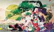 逸遊団 プレイマット 第23弾 東方Project ☆『博麗霊夢・八雲紫/Illust:鶴亀』★ 【コミックマーケット90/C90】