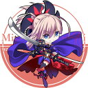 サークル R.P.G. 同人缶バッジ Fate/Grand Order 第4弾 ☆『宮本武蔵/illust:ドア』★【ネコポス可】