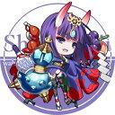サークル R.P.G. 同人缶バッジ Fate/Grand Order 第4弾 ☆『酒呑童子/illust:ドア』★【ネコポス可】